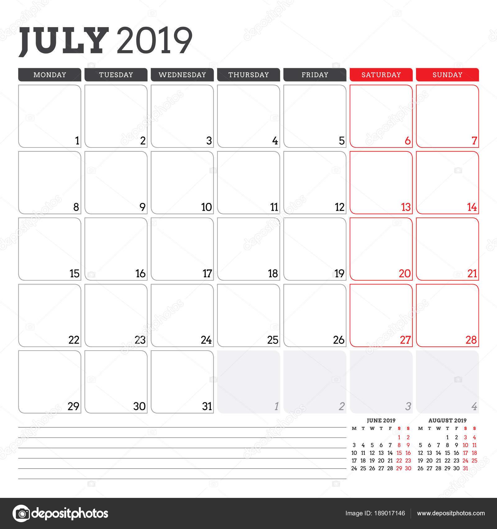 naptár 2019 július Naptár tervező július 2019. Hét kezdőnapja a hétfő. Nyomtatható  naptár 2019 július