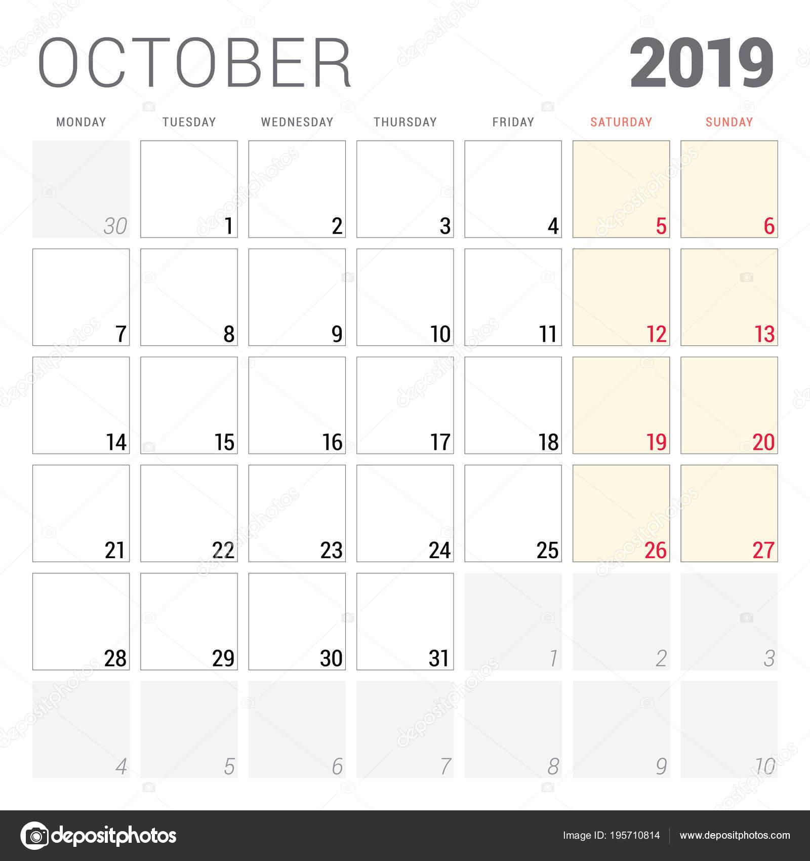 25 Ekim 2019 Pazartesi