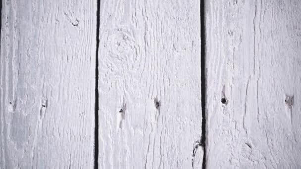 Bílý dřevěný povrch. Pozadí textury dřeva