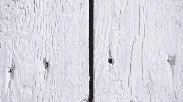Weiße Holzoberfläche. Holz Textur Hintergrund