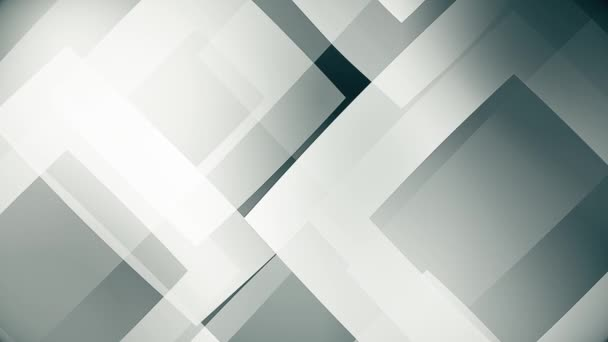 zpomalený pohyb tónovaného skla na pozadí a průhledných geometrických tvarů