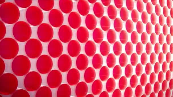 geometriai elemek lassított mozgású mintázata elvont geometriai háttér