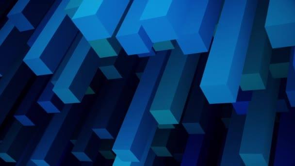 abstrakte fantastische Hintergrund 3D-Animation