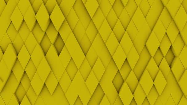 abstraktní polygonální geometrický povrch minimální polygonální mřížka vzor s některými barevnými prvky náhodné vlnění pohybu pozadí v čisté architektonické zdi s bílým designem prostor