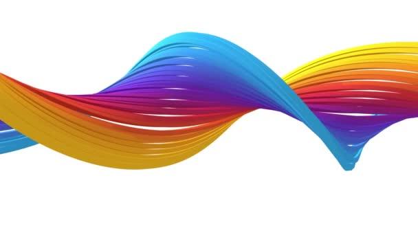 színes vonal hurok videója