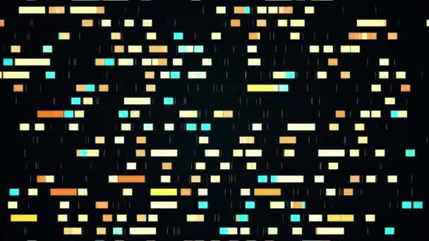 adatbányászat haladás absztrakt animáció mozgó négyzetek