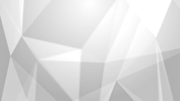 tekoucí geometrické trojúhelníky abstraktní pozadí