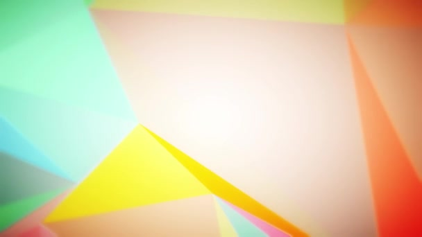video geometrického abstrakčního pozadí
