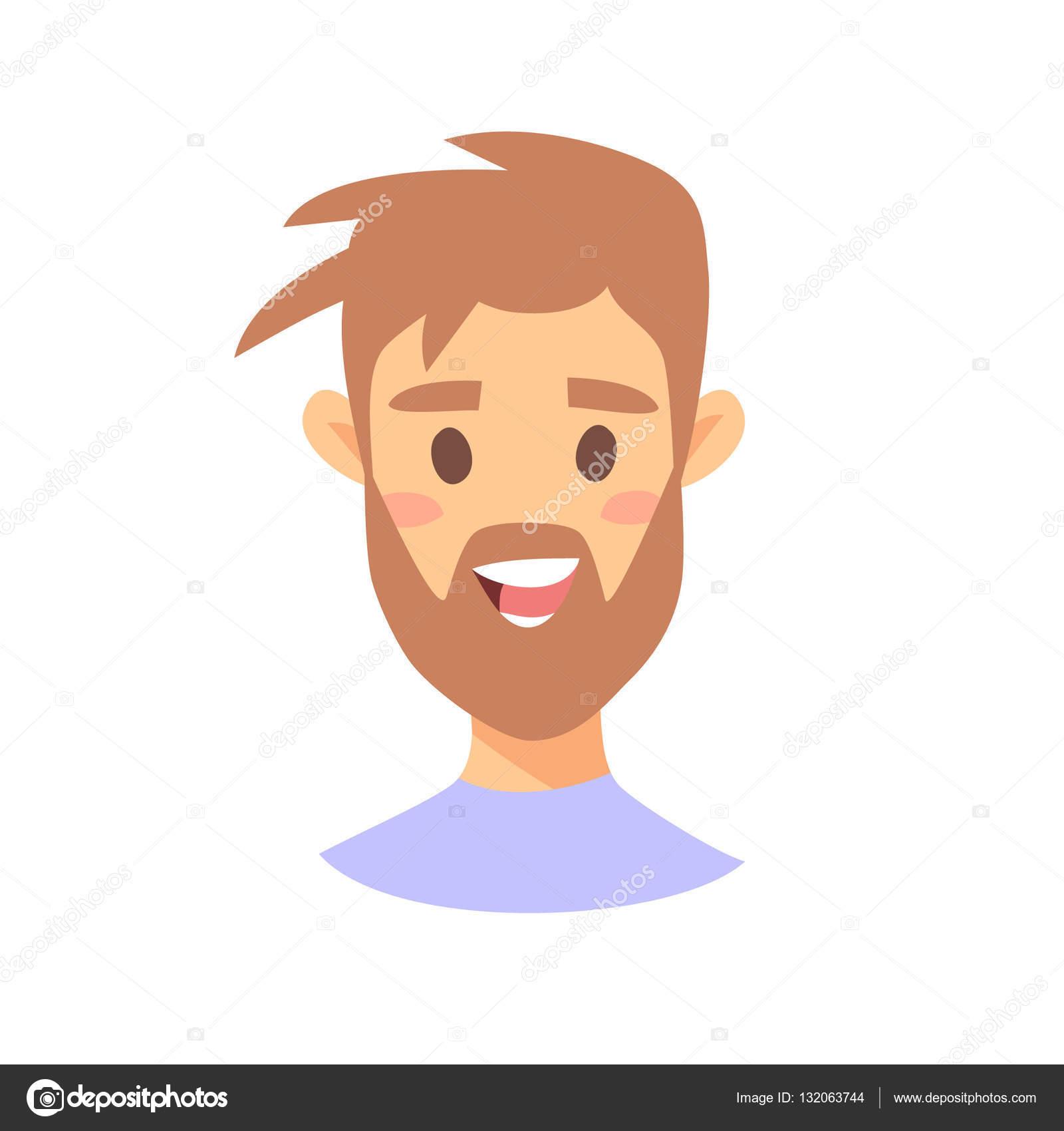 mignon personnage emoji icnes dmotion de style de dessin anim avatars de garon isol avec des expressions du visage agrable