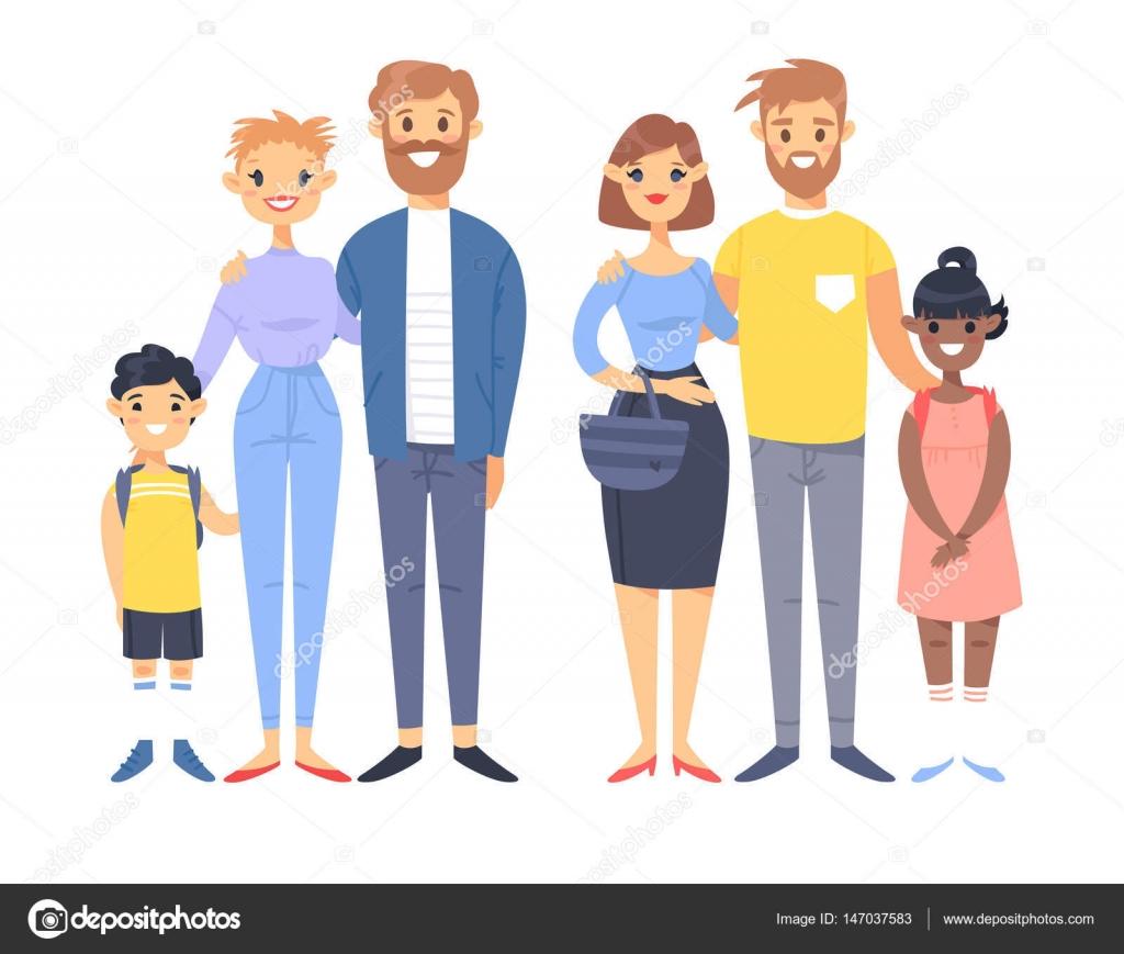 Фото молодых семейных пар с детьми