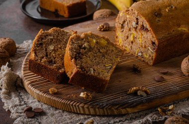 Best homemade banana bread, simple and healhty