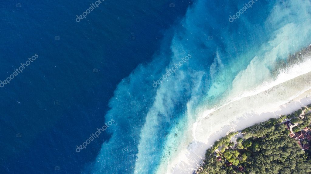 Most Beautiful Beaches In The World Wallpaper Top View Aerial Drone Photo Of One Of The Most Beautiful Beaches In The World Incredibly Beautiful Blue Water On Seashore Stock Photo C,Black And White Wallpaper Aesthetic Collage