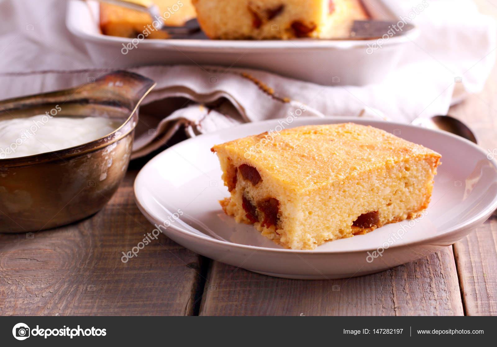 Quark Kuchen Pudding Stockfoto C Manyakotic 147282197