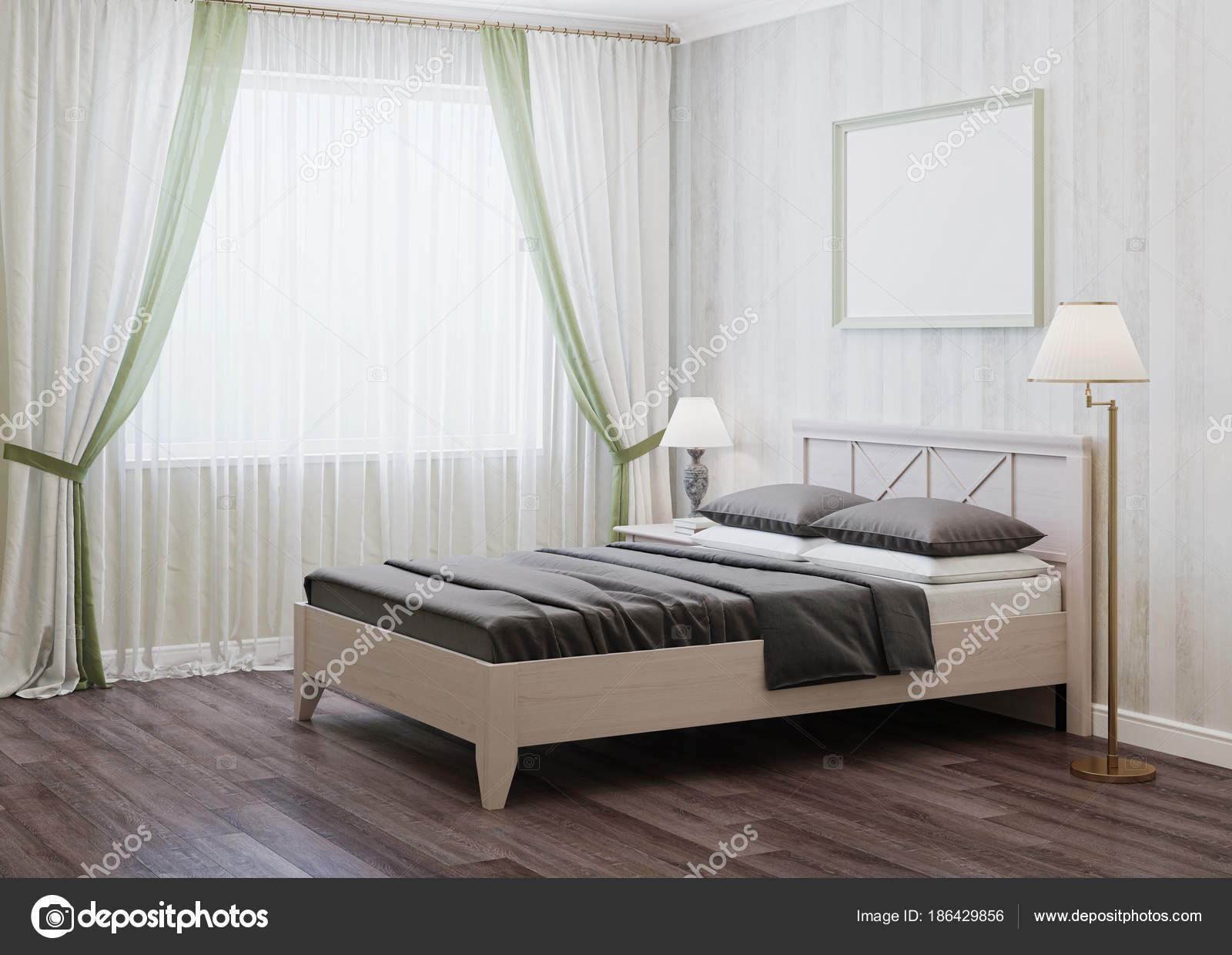 Design Bedroom Style Provence Rendering Stock Photo Image By C Artemp1 186429856