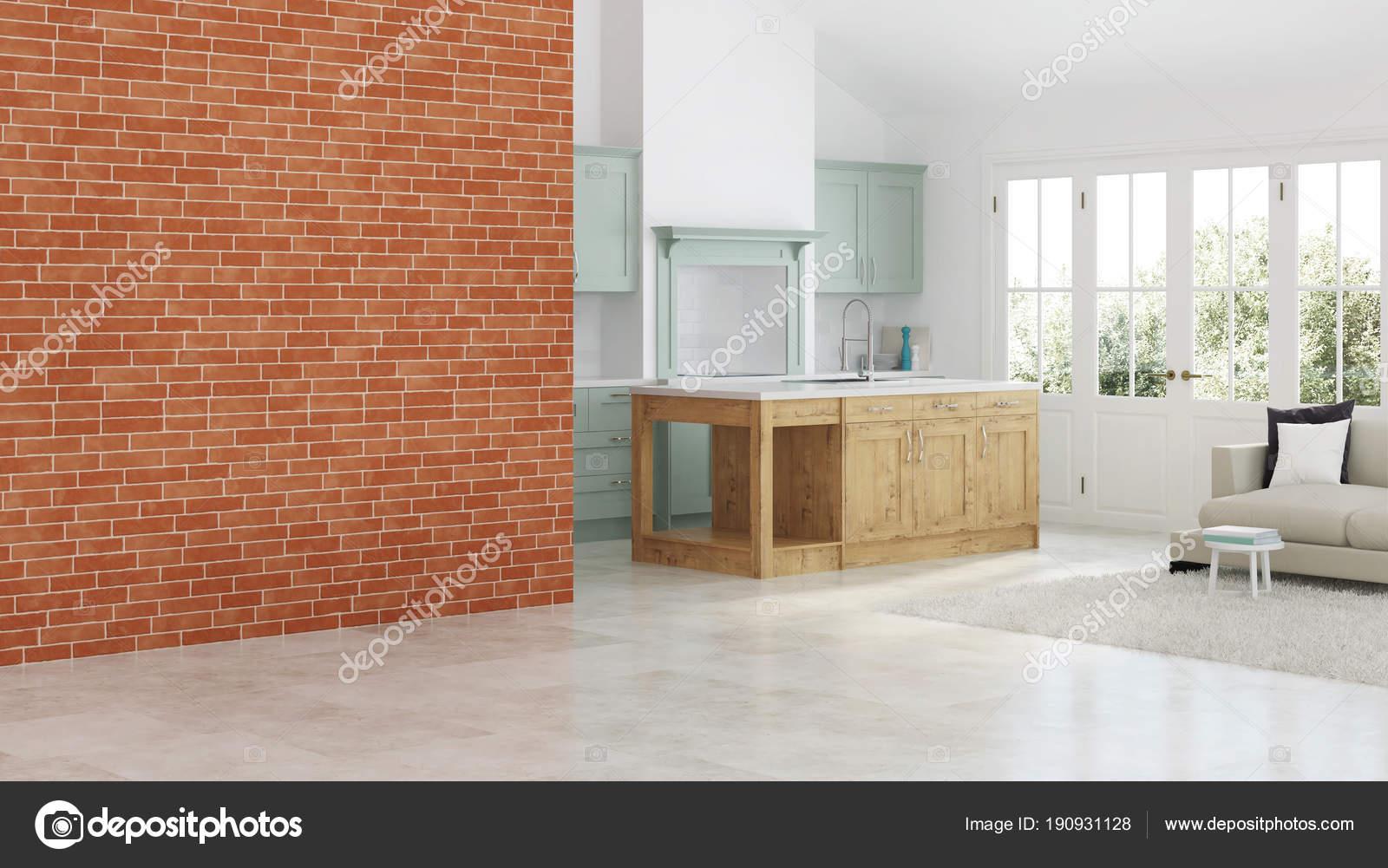 Interni Di Una Casa Di Campagna : Interni moderni una casa campagna cucina verde chiaro porte con