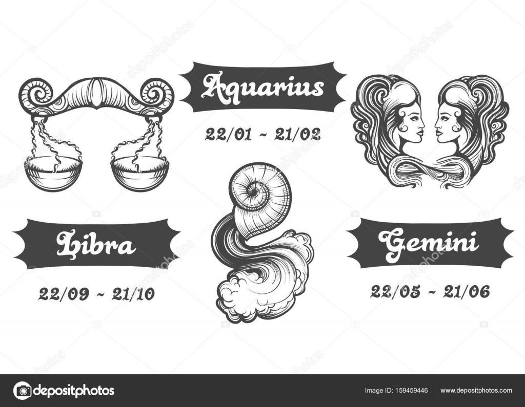 Aquario e libra