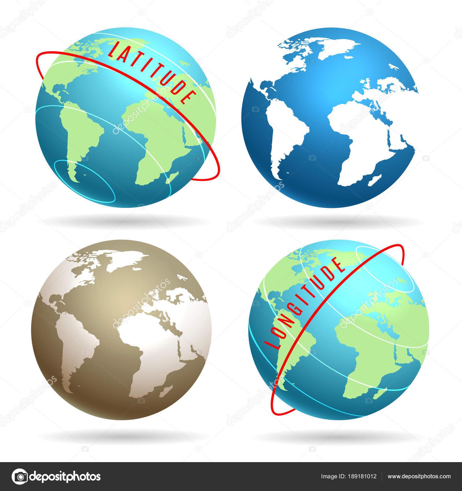 globe word map emblem set stock vector bogadeva 189181012