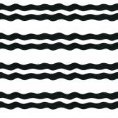 Akvarell zökkenőmentes geometriai minta a fehér háttér. Egyszerű geometriai háttér hullámokkal.