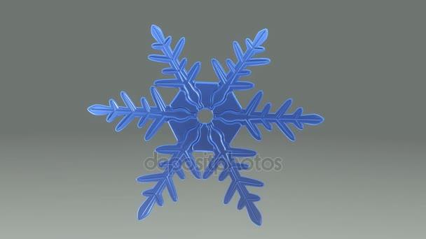 kék Hópihe kristály