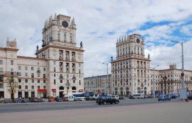 Railway Station Square, Minsk Belarus