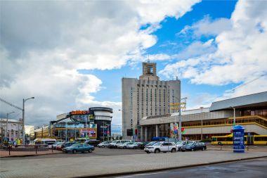 Minsk, railway station