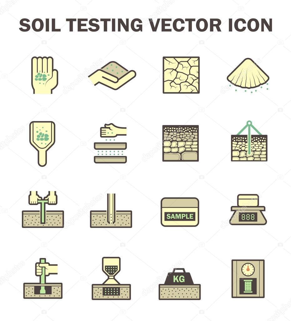 Boden-Test-Symbol — Stockvektor © roncivil #129397168