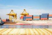 Fotografie Frachtschiff Container