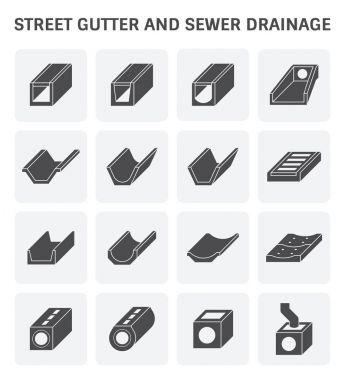 street gutter icon