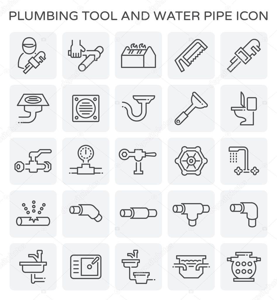 plumbing tool icon