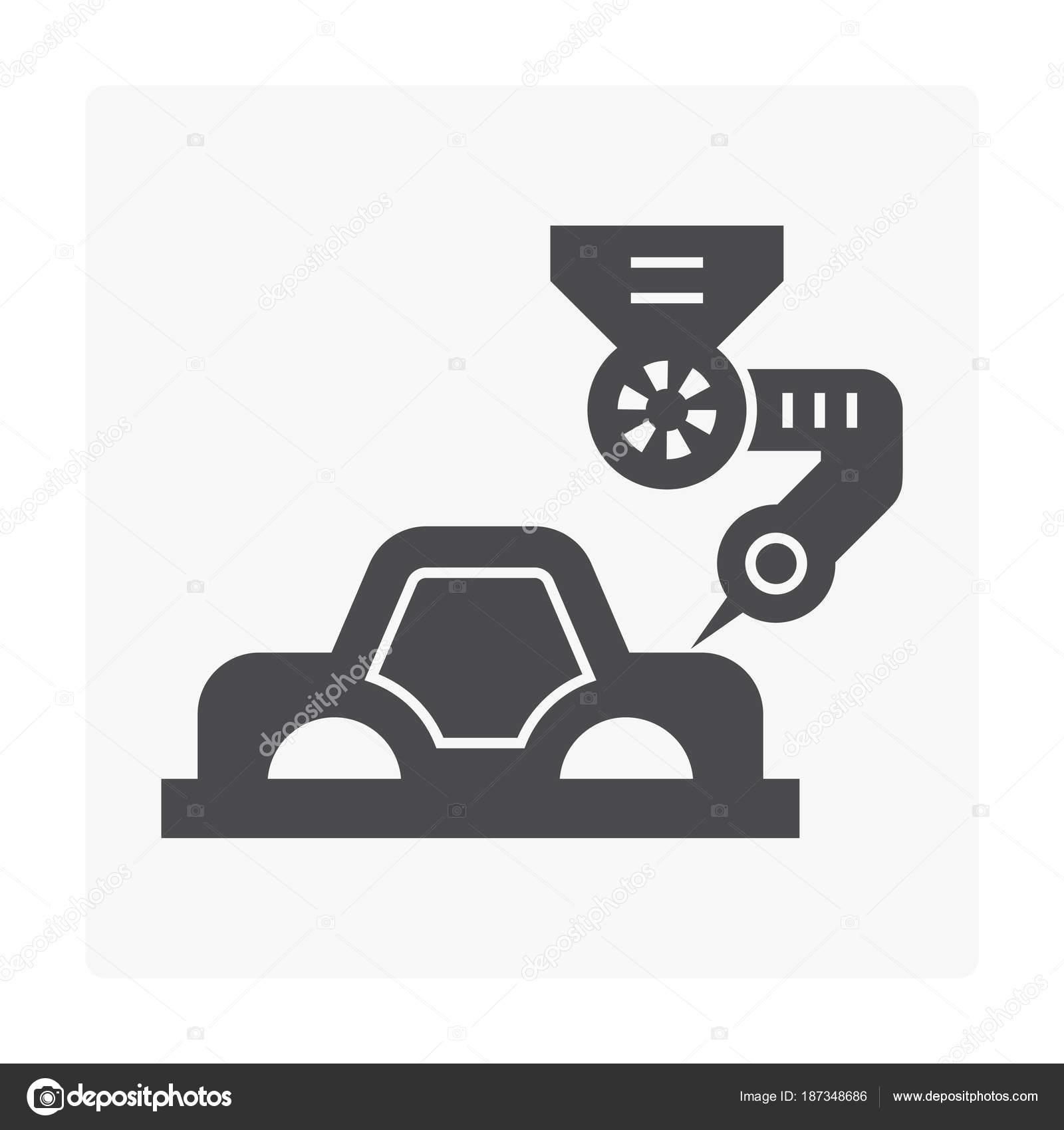 Car Manufacture Icon Stock Vector C Roncivil 187348686