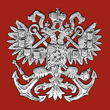 A heraldic two-headed eagle - symbol of power