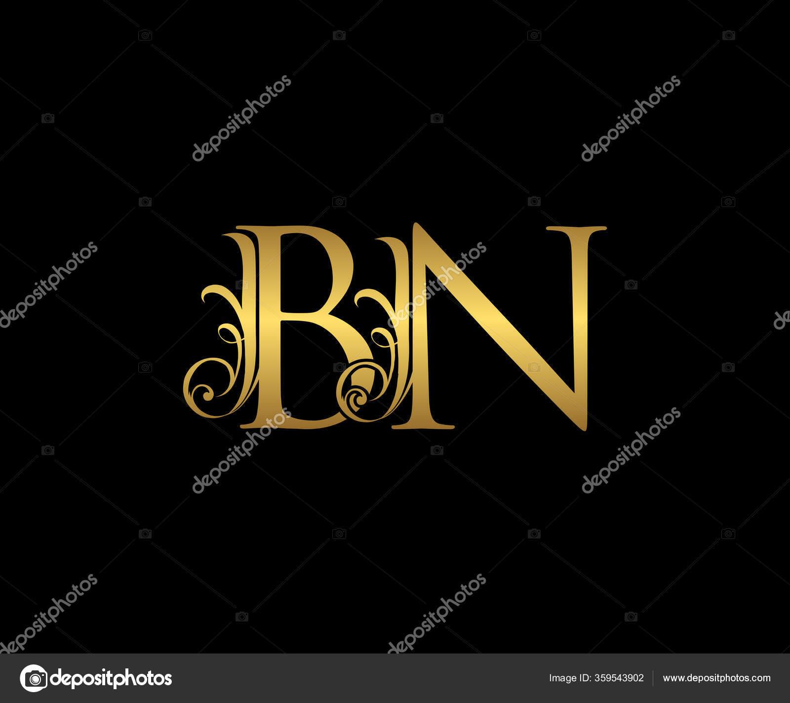 Golden Letter Logo Icon Initial Design Vector Luxury Gold Color Stock Vector C Bintank 359543902