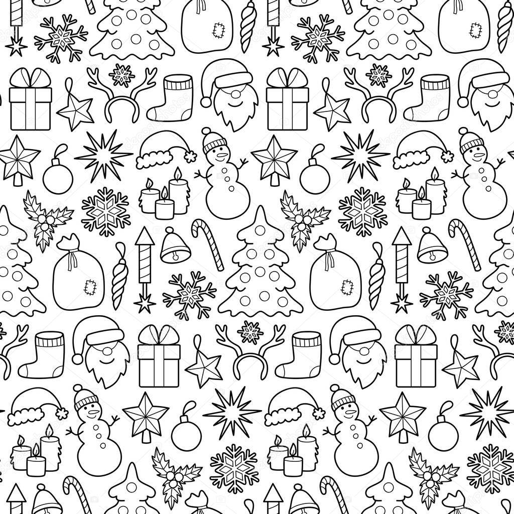 Parche de Navidad patrones sin fisuras — Archivo Imágenes ...