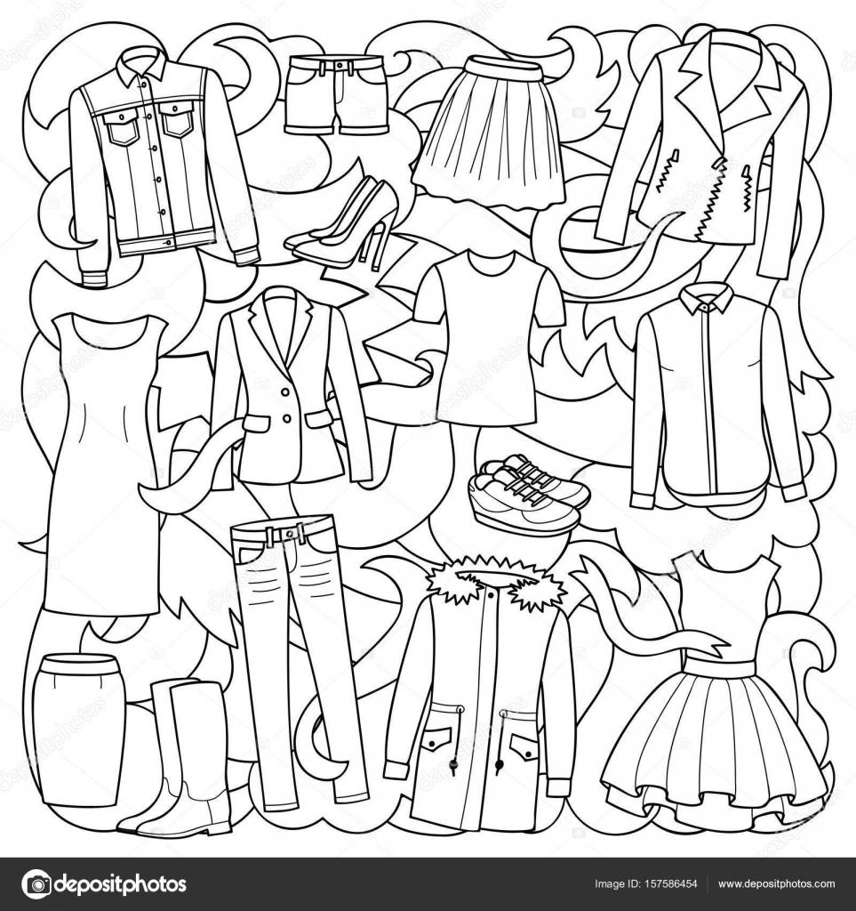 kleurplaat kleren kidkleurplaat nl