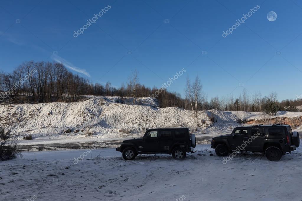Hammer H3 and Jeep Wrangler Jk