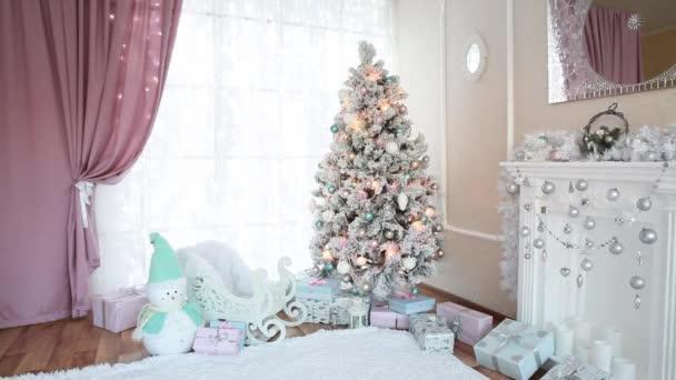 Beautiful New Year festive interior