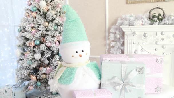 Krásný Silvestr vnitřní místnost