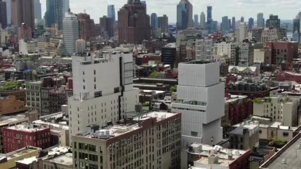 anténa dolní východní strany Manhattanu