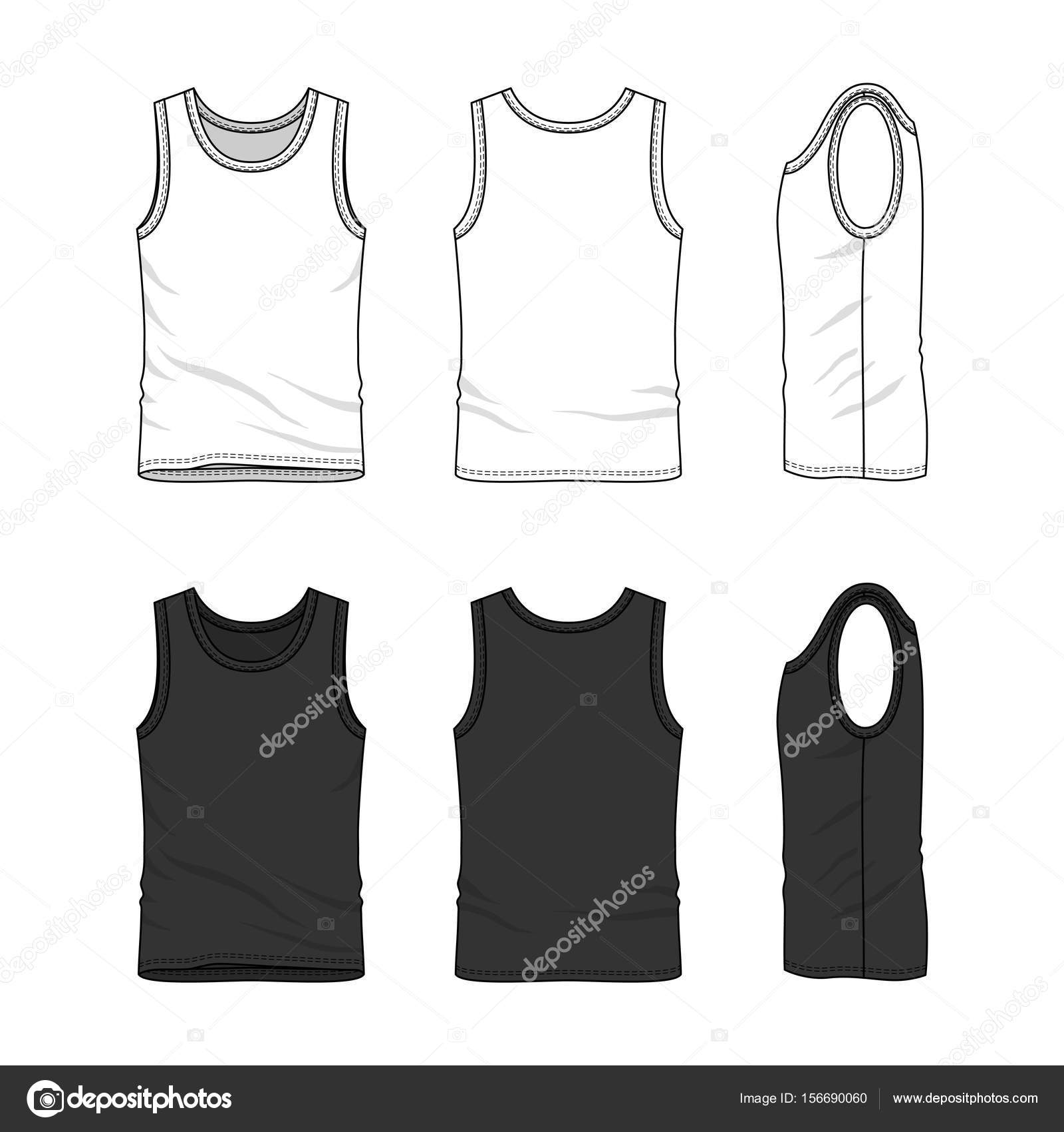 Hombre — TirantesConjunto De Plantilla Camiseta Vector zpSUMVjqLG