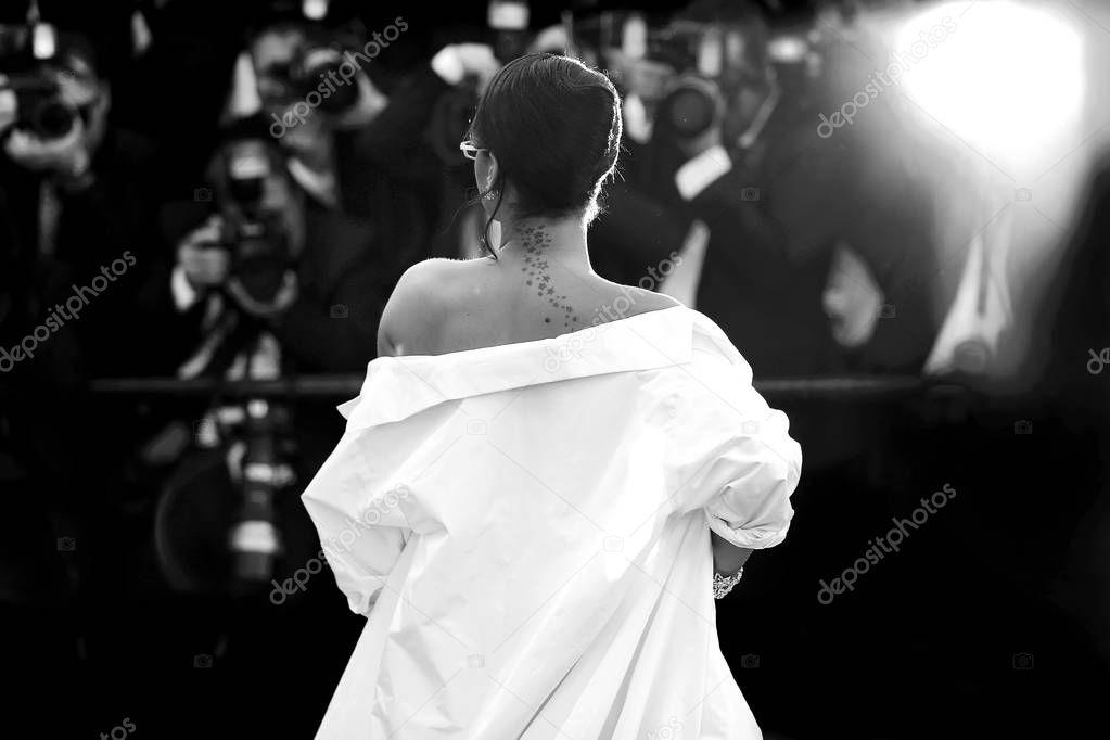 Singer Robyn Rihanna Fenty