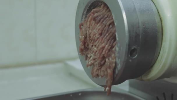 Schneiden von Fleischbrühen Video