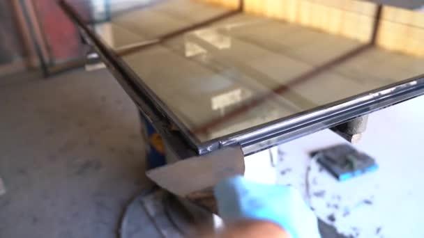 Blick aus der Glasfabrik