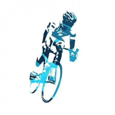 Cyclist vector illustration