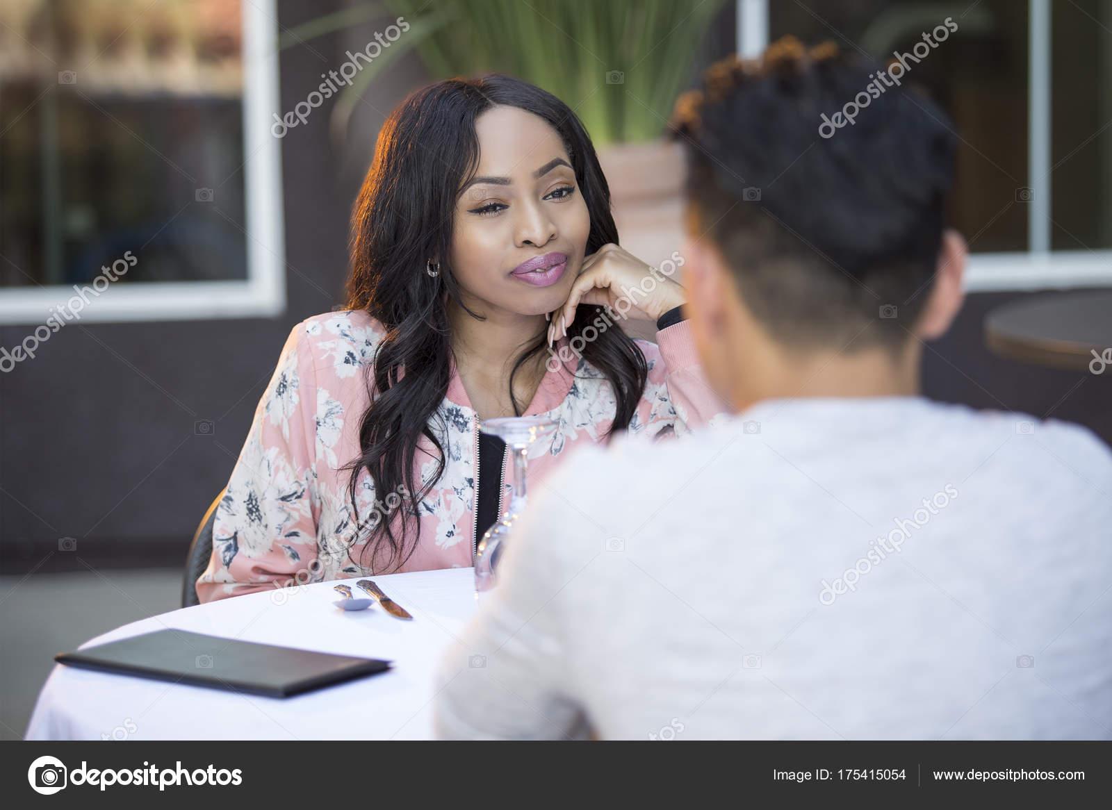 Blind girl dating black