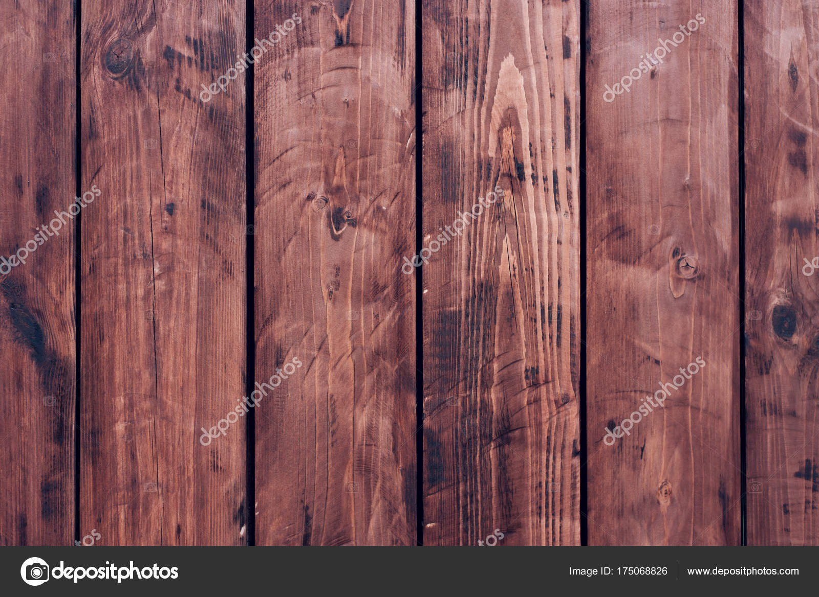 Braun Holzernes Brett Zaun Dunkle Vintage Holzbrettern