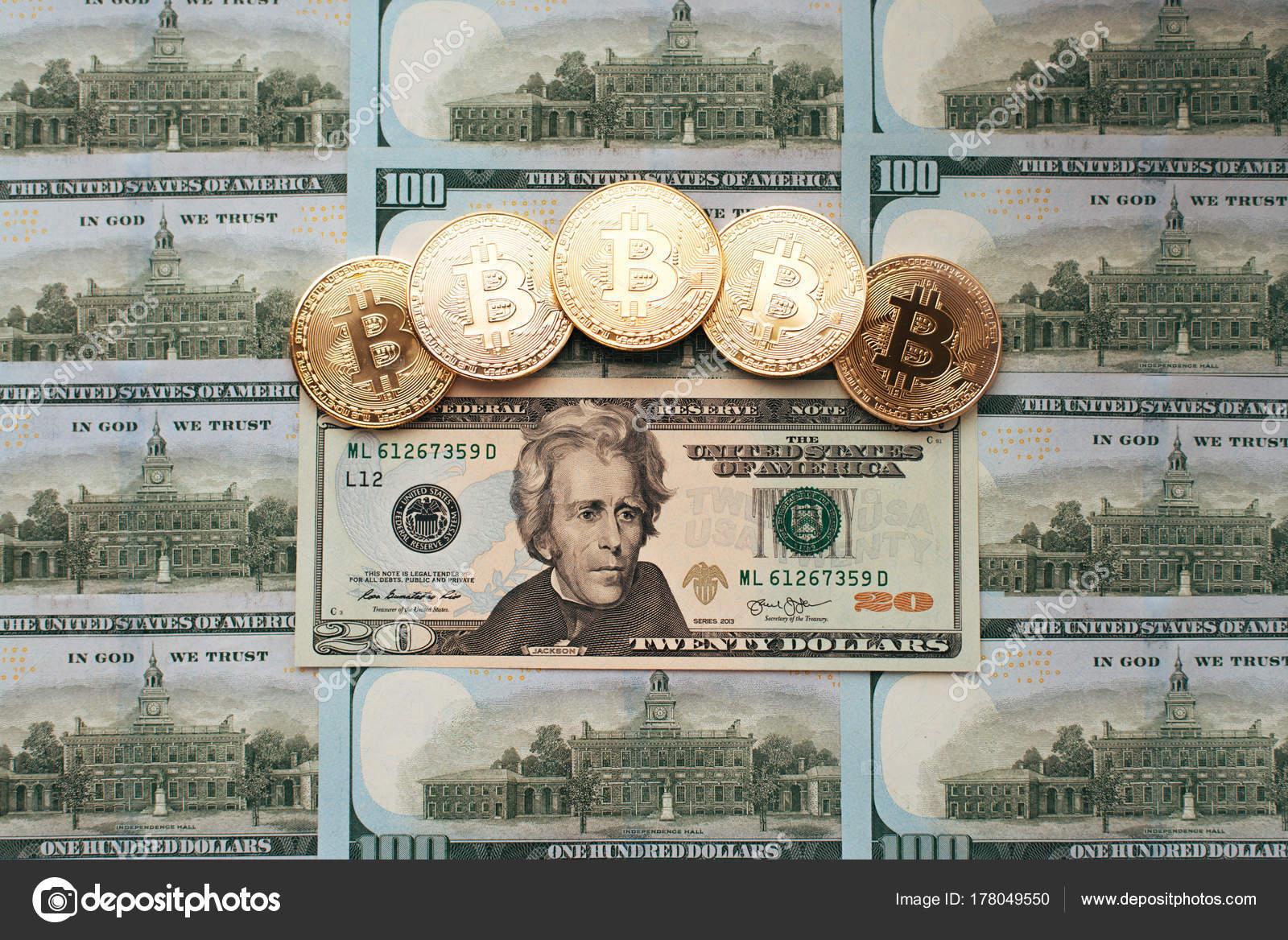 Bitcoin Das Geld Liegt Auf Rechnung Tabelle 20 Dollar Münzen Die