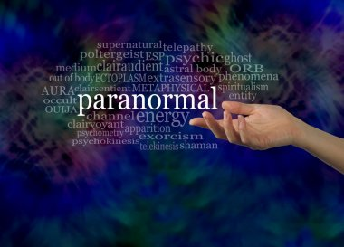 Aspect of the Paranormal Word Cloud