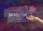 Paranormális jelenségek szó felhő