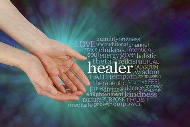 Healer Offering Healing Word Cloud