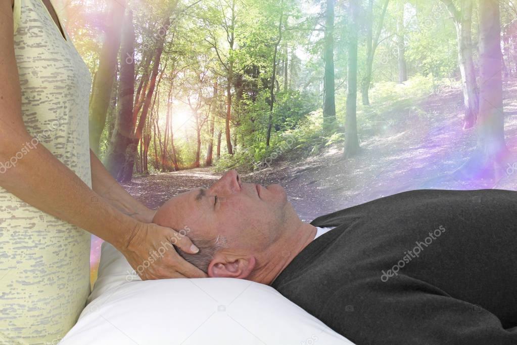 Dream State Spiritual healing session